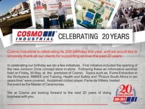 Cosmo Birthday Article