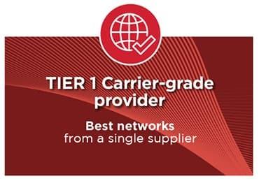 Tier 1 carrier grade provider