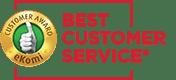 Best customer service - Ekomi